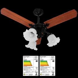 Ventilador New Beta 3 Pás Mogno Preto