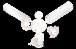 Ventiladores New Beta 3 Pás Laqueadas Branco