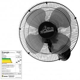 Ventilador Oscilante Parede premiun 50 Bivolt Preto 140 Fios