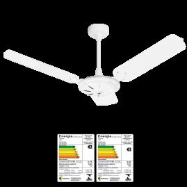 Ventilador Comercial Delta Eco 3 Pás Chapa Branco Reversão