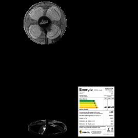 Ventilador Oscilante Coluna Premiun 50cm Preto Bivolt