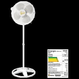 Ventilador Oscilante Coluna Gold 50 Branco Bivolt