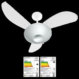 Ventilador Delta Anti Inseto 3 Pás Laqueadas Branco